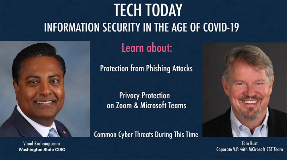 State CISO discusses cybersecurity during COVID-19 pandemic